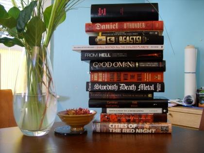Evil Book Stack